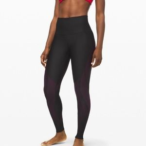 Lululemon Mapped Out Hi Rise Running Tights Yoga